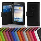 Case for Huawei ASCEND Y330 Phone Cover Card Slot and Pocket Wallet