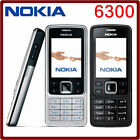 New Nokia Brand 6300 Unlocked Camera Bluetooth Mobile Phone Black Gold Silver Uk