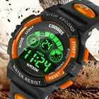 Waterproof Kids Digital Electronic Watch Children Boys Girls Sports LED Watches