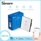 NEW SONOFF T4EU1C Smart Home Wall Switch Only Live Wire Require Wireless Ctrl