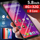 M20 Pro 5.8'' Android Dual-sim Smart Mobile Phone Face/fingerprint Unlocked New