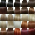 "24"" ONE PIECE CLIP IN HAIR feels human ash caramel blonde burgundy red plum"