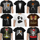 Easy Halloween Costume Men's T-Shirt Skeleton Tuxedo Cowboy Dabbing Flossing