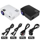 Mirror WIFI Wireless A8 Home Video Projector 1080P USB/HDMI/VGA for Android6.0