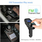 New Bluetooth Hands-free Car Kit MP3 Player FM Transmitter USB Car Charger 2019