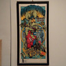 """Used! Limited 300 RATFINK Rockin 'Jelly Bean """"OUTLAWS RULE!"""" SILK SCREEN POSTER"""