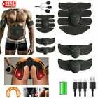 Rechargeable ABS Simulator EMS Training Smart Hip Abdominal Muscle Exerciser 666 image