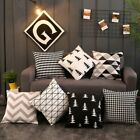 Au Polyester Square Home Decorative Throw Pillow Case Sofa Waist Cushion Cover