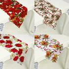Christmas Dining Table Runner Cloth Flag Xmas Festival Party Venue Banquet Decor