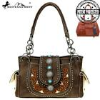 Montana West Concho Collection Concealed Carry Satchel, Handbag with wallet set image