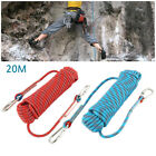 20M SWAT Heavy Duty Tactical Rappelling Rope Mountaineering Climbing Safety Rope