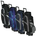 NEW RJ Sports 2019 Spinner X Transport Wheeled Golf Cart Bag -Pick the Color!
