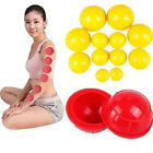 12Pcs/ Set Silicone Medical Vacuum Massager Cupping Cups Therapy Anti Cellulite