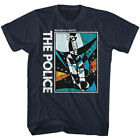 Sting & The Police Message in a Bottle Men's T Shirt Album Cover Rock Band Tee