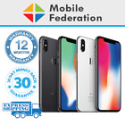 Apple Iphone X 64gb 256gb A1865 Unlocked Space Grey Silver [au Stock]