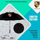 Porsche Design Umbrella Premium Quality Golf Brolly Automatic White Black Red