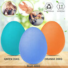 Exercise Grip Ball Egg Hand Strength Stress Relief Finger Squeeze Therapy Muscel image