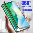 360  Full Case  Screen Protector For Samsung S10 S8 S9 Plus Note10 9 8 S7 Edge
