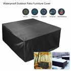 Waterproof Garden Patio Furniture Cover Shelter Rattan Table Cube Seat Outdoor