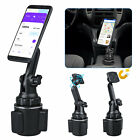 Adjustable Car Cup Holder Magnetic Stand Mount Cradle For Cell Phone Universal