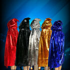 Halloween Costume Cosplay Wizard Robes Adult Horror Death Vampire Witch Cloak