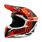 Airoh Wraap Broken Orange Matt Off Road Enduro MX Motocross Helmet