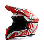 Airoh Wraap Broken Red Gloss Off Road Enduro MX Motocross Helmet