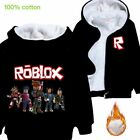 Gifts ROBLOX Kids Boys Girls Winter Hoodie Jacket Outerwear Top Clothes 4-14T