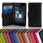 Case for Sony Xperia E1 Phone Cover Card Slot and Pocket Wallet