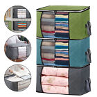 Foldable Storage Bag Clothes Blanket Quilt Closet Sweater Organizer Box Pouch US