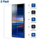 For Sony Xperia 10 +/XZ2/XZ1/XZ/XA 1 Ultra/L2/L1 Tempered Glass Screen Protector