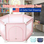 Kyпить 6 Sided Baby Playpen Playinghouse Interactive Kids Toddler Room With Safety Gate на еВаy.соm
