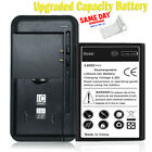 High Capacity 2300mAh Battery or Home Charger for Alcatel Raven A574BL Phone