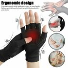 Pair Arthritis Gloves Sports Health Half Finger Recovery Therapeutic Compression $9.83 USD on eBay