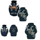 Dallas Cowboys Sport Hoodie Sweatshirt Winter Jumper Jacket Hooded To $18.99 USD on eBay