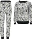 LADIES EX AVON ANIMAL PRINT FLEECE PYJAMAS LOUNGE SUIT PLUS SIZE 18-24 NSP £30