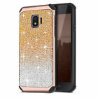 For Samsung Galaxy J2 2019 / J2 Core Shiny Glitter Air Cushion Shockproof Cover
