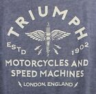 ⭐NWT⭐Lucky Brand Men's Triumph Motorcycles Grease Guts & Glory SZ Med T-Shirt $24.00 USD on eBay
