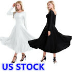 Kyпить US Women's Adult Praise Liturgical Long Sleeve Praise Loose Fit Dress Dancewear на еВаy.соm