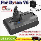 BATTERY Or Charger For DYSON V6 Absolute DC58 DC59 DC72 DC74 SV03 SV06 SV07 SV09