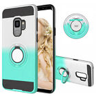 360° Totating Ring Removeable TPU +PC Case Cover For iPhone 11 Pro Android Phone