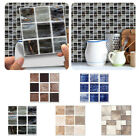 Mosaic Tile Stickers Stick On Bathroom Kitchen Wall Selfadhesive Marble Effect