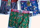 Crazy Boxer Underwear Co. Mens Boxer Briefs Ultra Comfortable Christmas  Designs