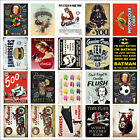 Various Retro Tin Metal Novelty Replica Signs Home Bar Kitchen Man Cave Shed M10 £4.99 GBP on eBay