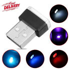 5 Color Mini Usb Led Wireless Lamp Car Atmosphere Light Colorful Accessories