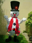 Halloween Snowman Mascot Costume Cosplay Party Clothing Carnival Christmas