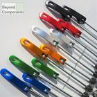 Pair of Anodised Bike Bicycle MTB Coloured Quick Release QR Allow Wheel Skewers