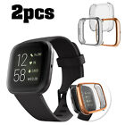 For Samsung Galaxy Watch Active 2 40mm/42mm Screen Protector TPU Full Cover Case image