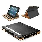 """S-Tech Soft Leather Wallet Smart Cover For Apple iPad Mini 1 2 3 4 5 Models 7.9"""""""