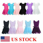 Kyпить Girl Gymnastics Ballet Leotard Dress Toddler Dance Tutu Skirt Dance wear Costume на еВаy.соm